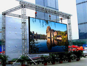 Epistar Chip Outdoor LED Display 5.95mm Pixel Pitch SMD1921 100000 Hours Life Span تامین کننده